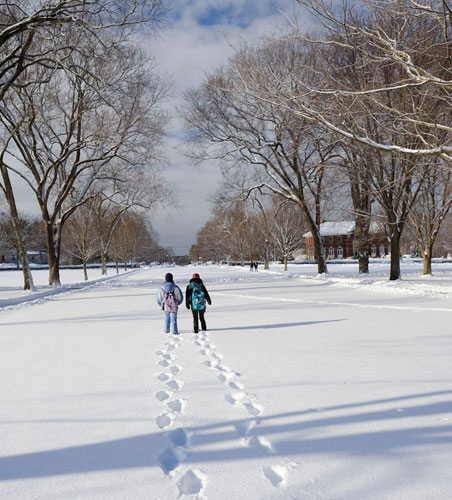 Winter at Phillips Academy 2011